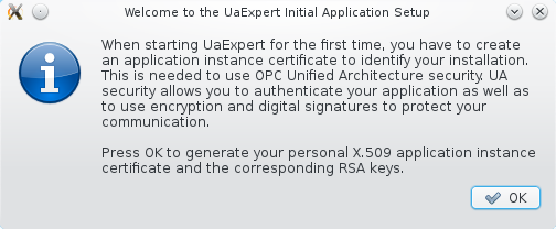 UaExpert: Installation and First Start-Up