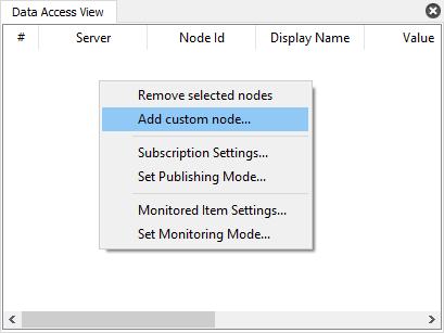 UaGateway: HowTo: Access Non-Browsable COM DA Server Items