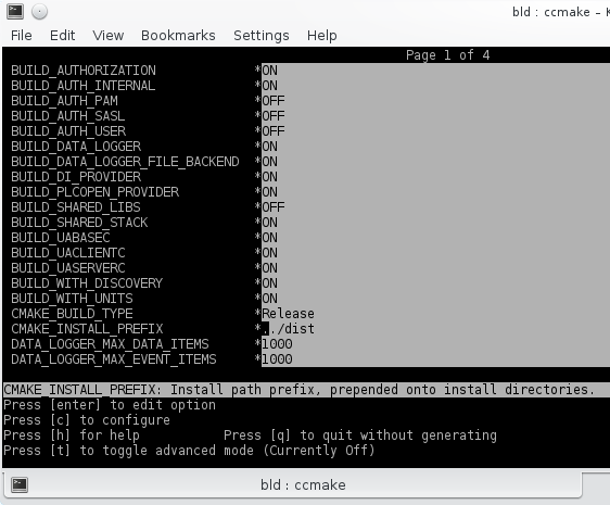 C++ UA Server SDK: Recompiling the SDK and Examples (Linux)