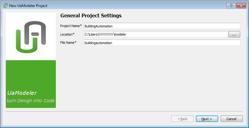 NET Based OPC UA Client/Server SDK: Using UaModeler for